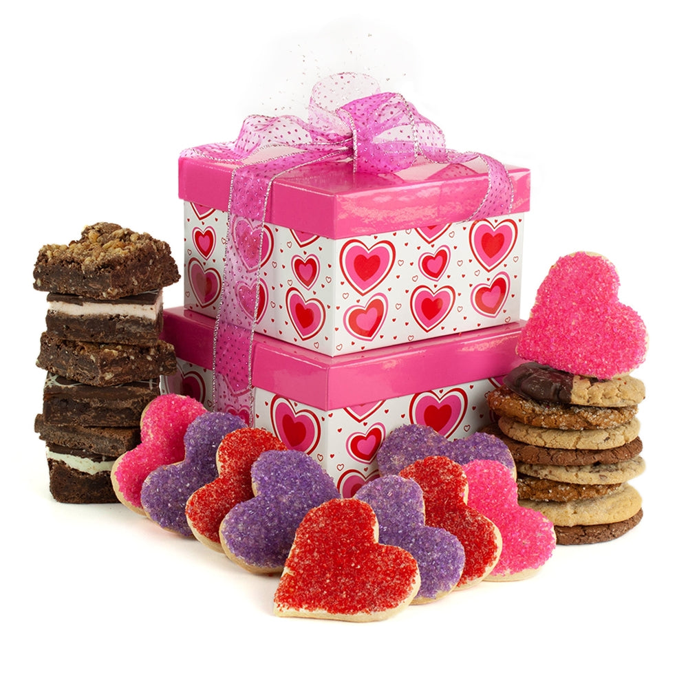 Pink Hearts Tower