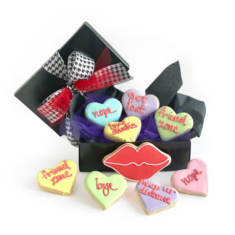 Anti-Valentine Cookie Set