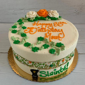 St. Patrick's Day Irish Fault Line Cake