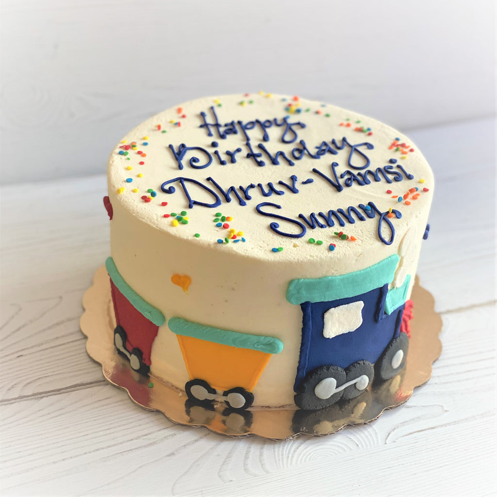 Choo-Choo Train Birthday Cake