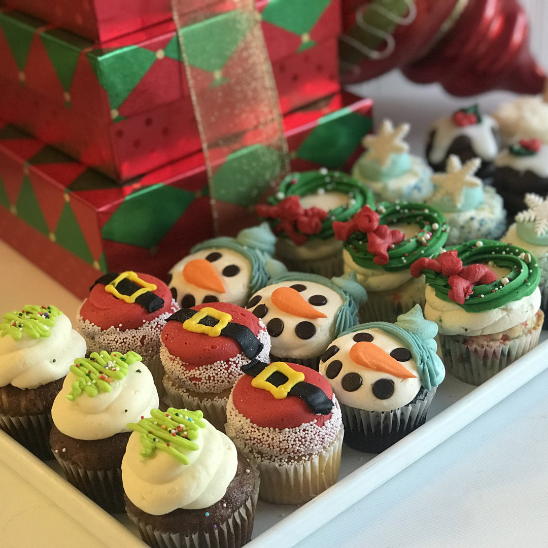 Christmas Cupcakes (Packs of 6)
