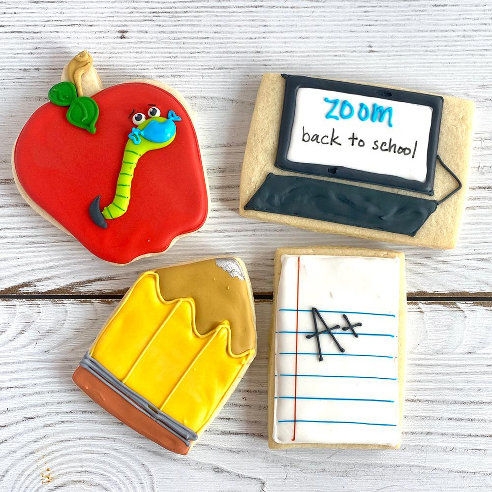 Back to School Sugar Cookie Set