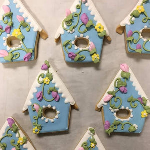 Birdhouse Sugar Cookies