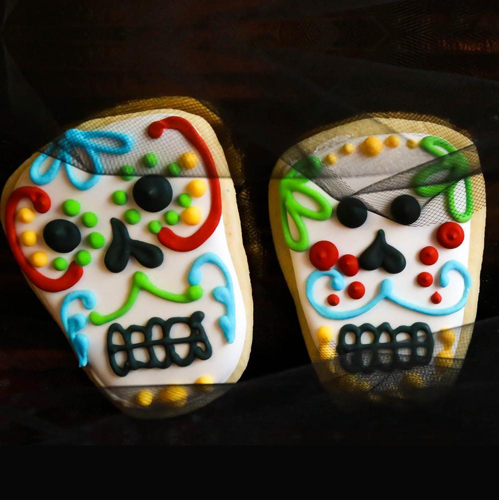 Day of the Dead Sugar Skull Cookies