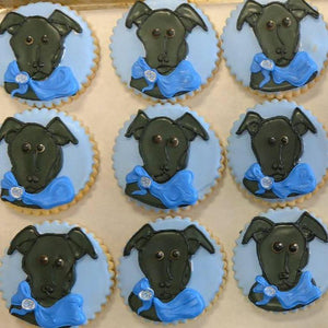 Pet Portrait Sugar Cookies