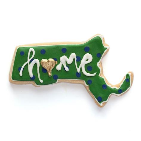 Massachusetts is Home Sugar Cookies