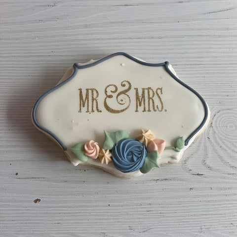 Mr and Mrs Sugar Cookies
