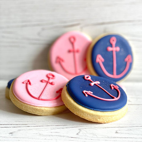 Anchor Nautical Sugar Cookies