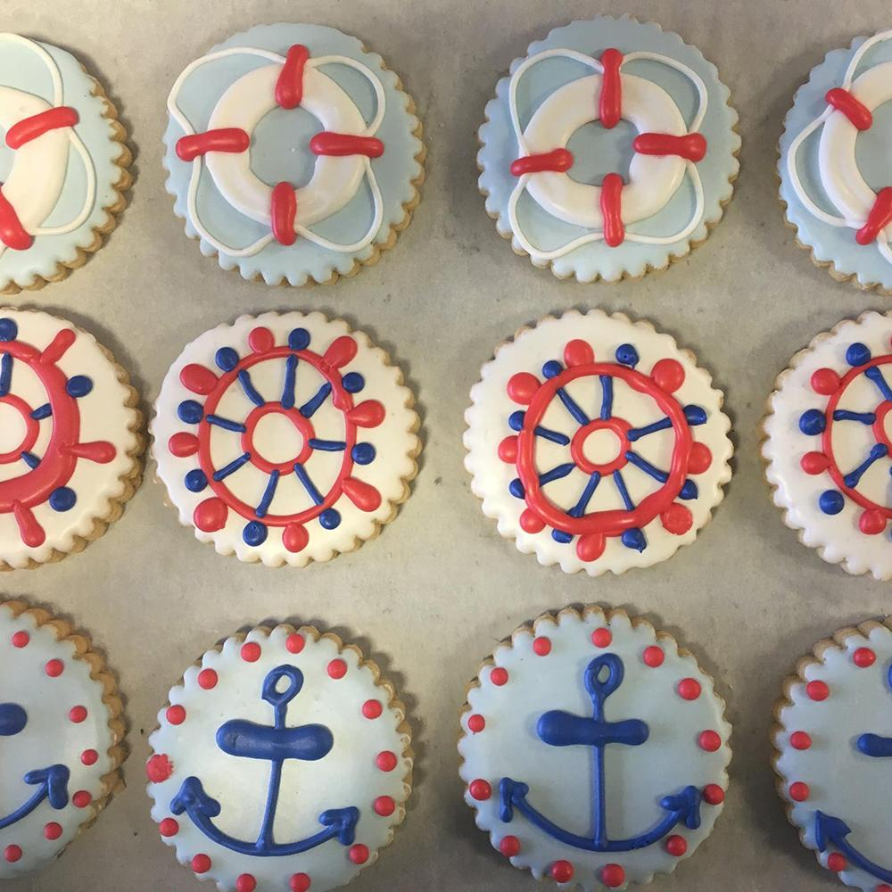Nautical Sugar Cookie Set