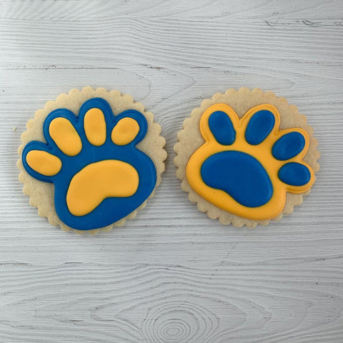 Paw Prints Sugar Cookies