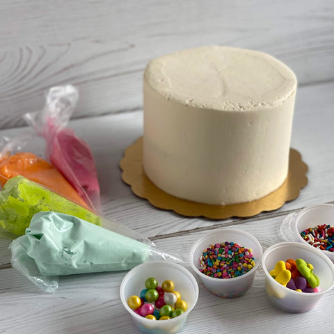 Cake Decorating Kit - Decorate Your Own Cake