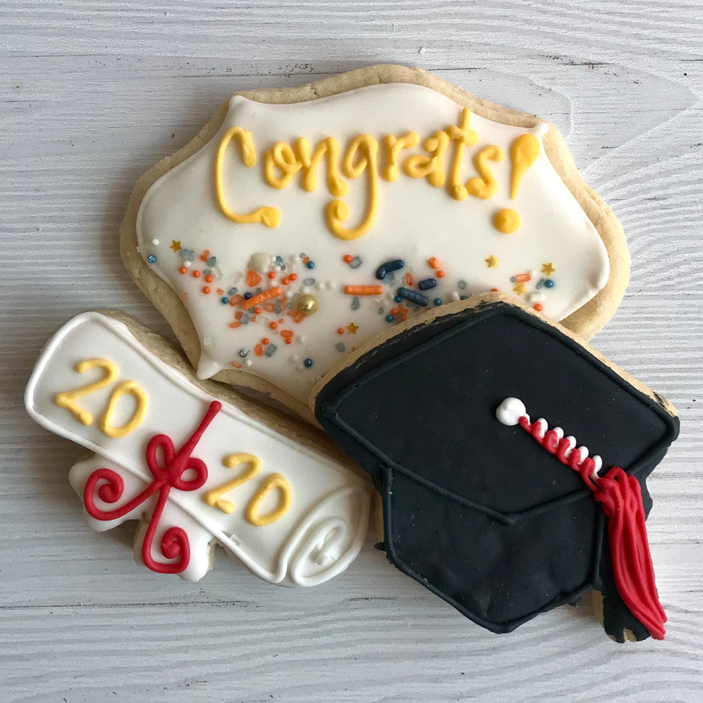 Graduation Cookies (Set of 3)