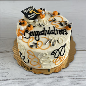 Celebration Graduation Cap Cake (Maynard High School)