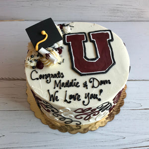 Graduation Logo Cake (Union College)