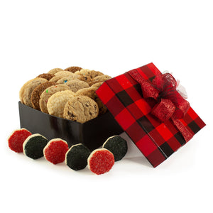 Lumberjack Plaid Cookie Gift