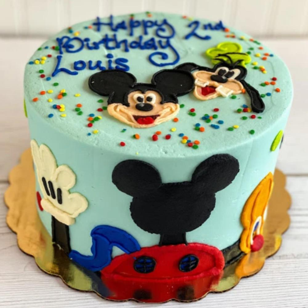 Mickey and Goofy | Mickey Clubhouse Cake