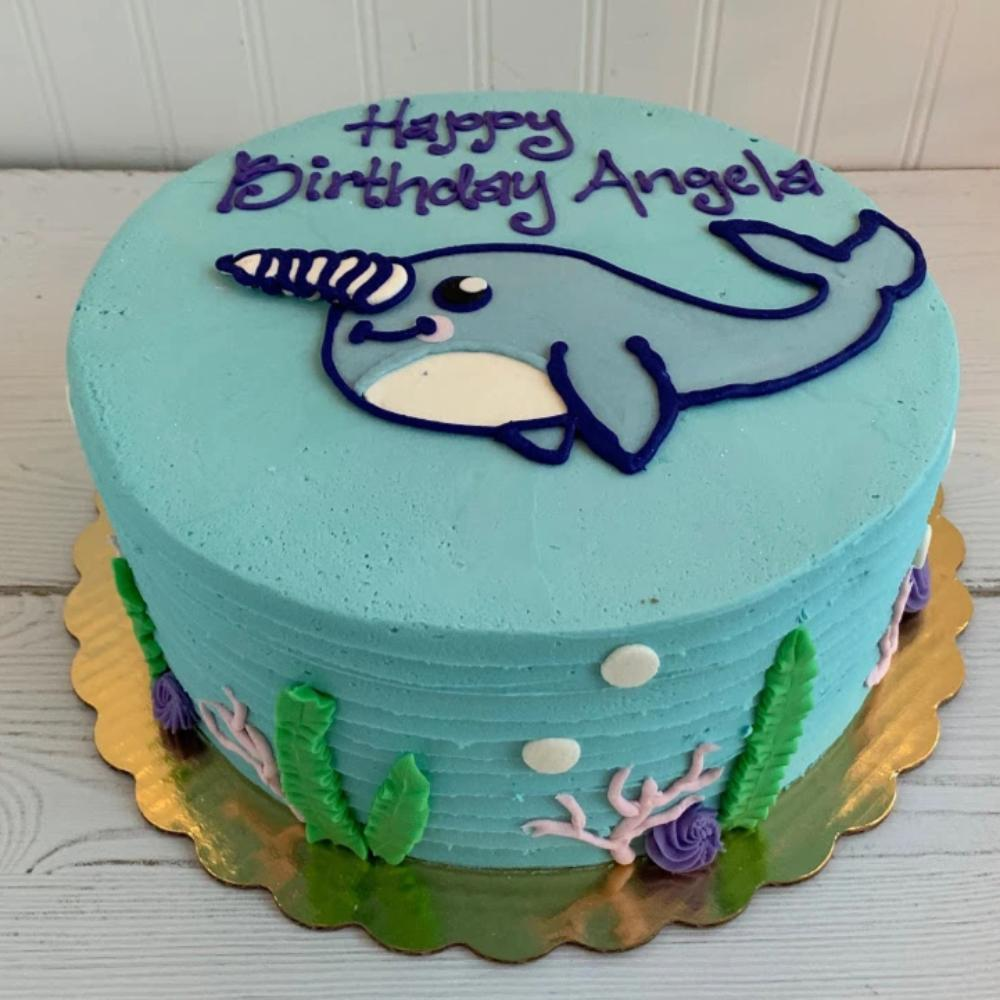 Narwhal Cake