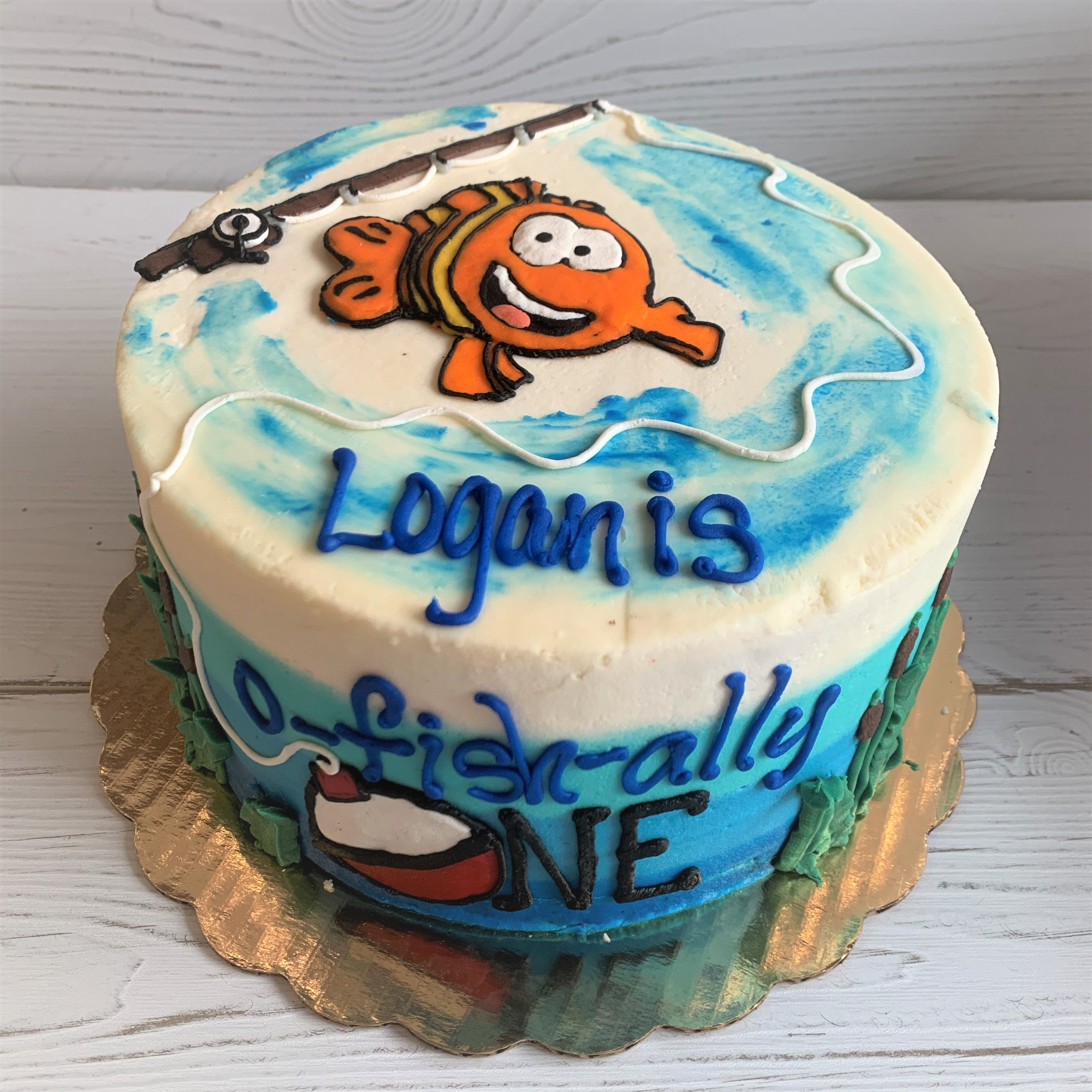 It's O-FISH-ALLY Your Birthday Cake