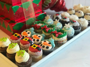 Gluten Free Christmas Cupcakes (Packs of 6)