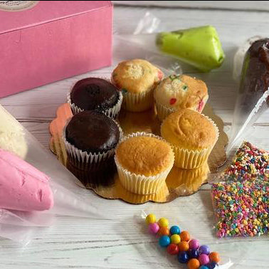 Cupcake Decorating Kit -Gluten Free - PICKUP OR LOCAL DELIVERY ITEM