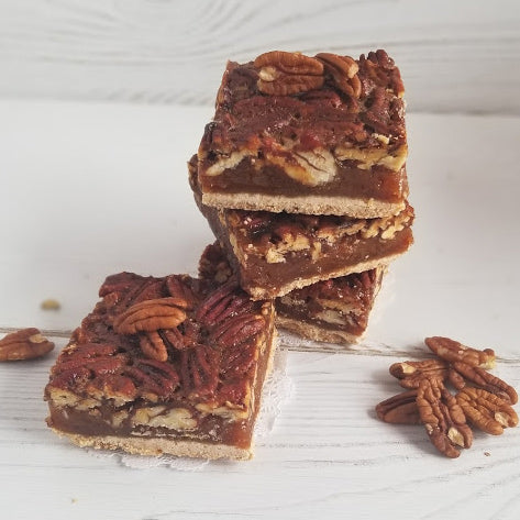 Pecan Bar - GF - PICKUP OR LOCAL DELIVERY ITEM