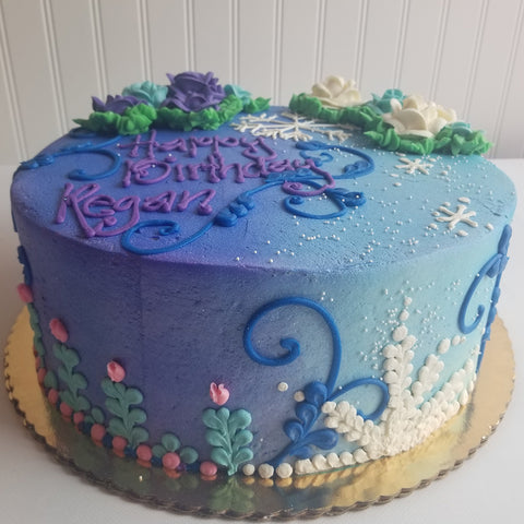 Winter Mystical Cake
