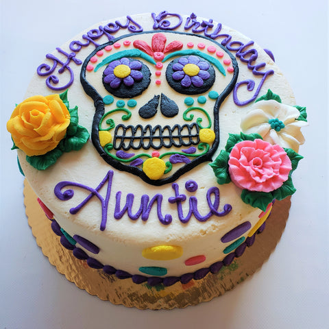 Day of the Dead / Sugar Skull Cake