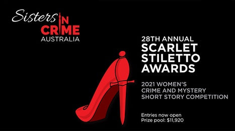 2021 Scarlet Stiletto Awards by Sisters in Crime: crime and mystery fiction by women