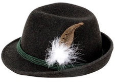 Tyrolean Hat: The Only One in the World