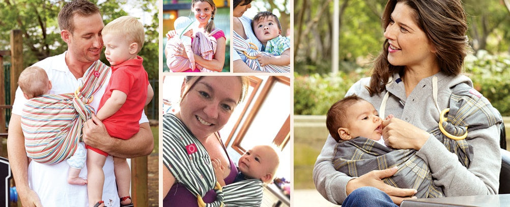 ABOUT BABY WEARING (a.k.a baby carrier / baby sling)