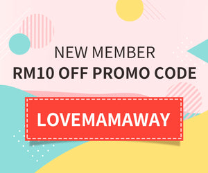 New member offer - RM10 off promo code