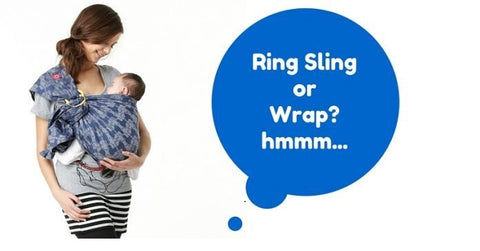 Difference between Ring Sling and Wraps