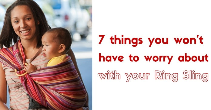 7 things you won't have to worry about with using Ring Sling