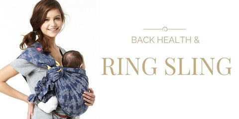 Debunk Myth: Ring Sling Triggers Back Health Issues?