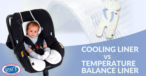 "Think twice. Are you using a cooling pram liner or a ""temperature balance liner""?"