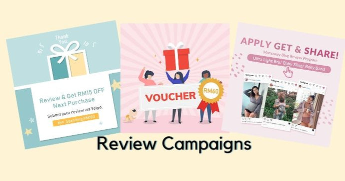 Review Campaigns are HERE. Grab FREE Vouchers Now!