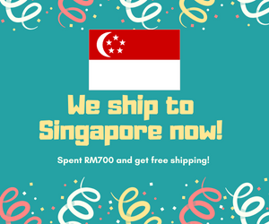 We ship to Singapore now!