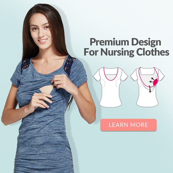 About Mamaway Nursing Clothes Opening