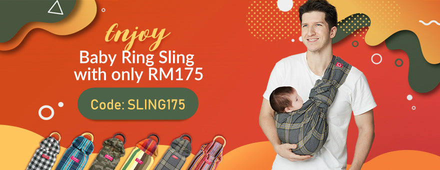 BABY SLING ONLY RM175