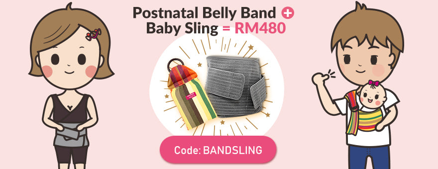 belly band+baby sling=RM480