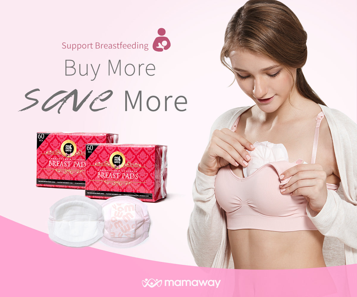 Breast Pads Buy more Save more promotion