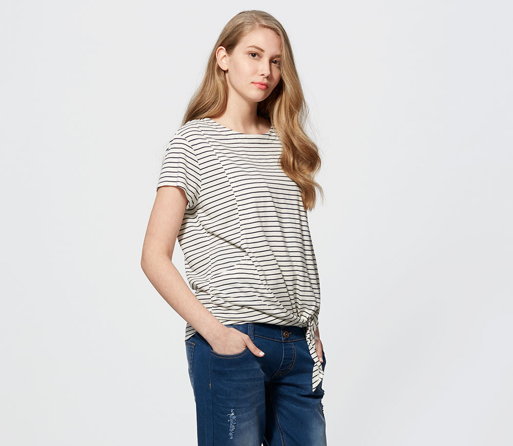 Cool Cotton Maternity & Nursing Top
