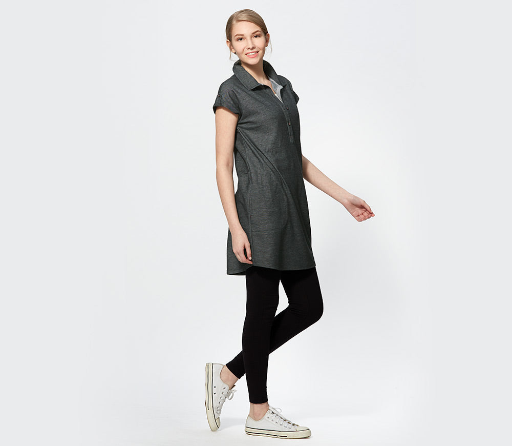 Cool Dry Polo Maternity & Nursing Dress