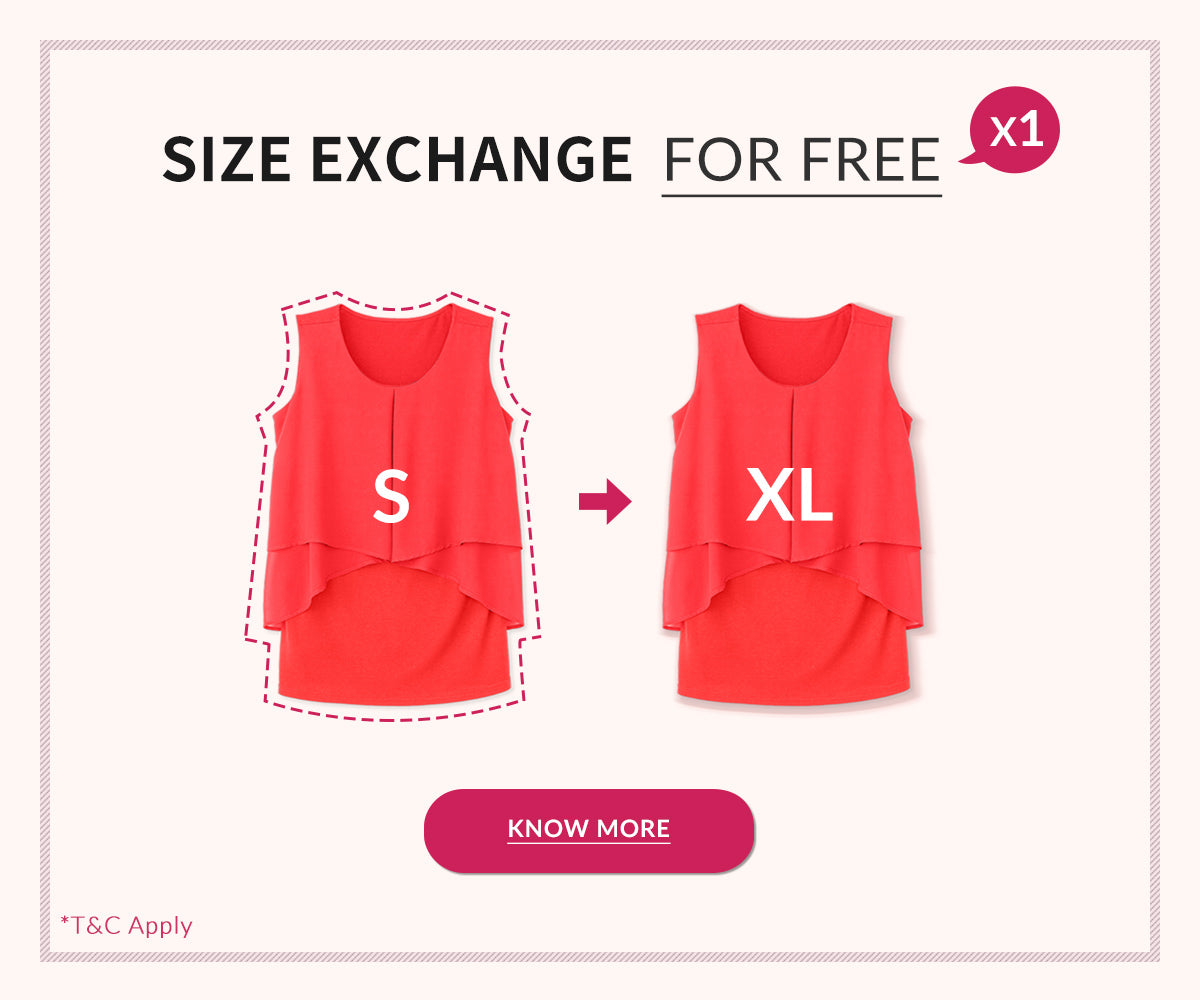 Size Exchange For Free