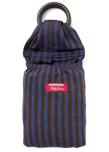 Blueberry Brownie Baby Ring Sling Gendongan Bayi - Mamaway Trading (M) Sdn. Bhd.