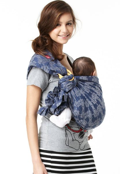 Mickey Kaleidoscopes Baby Ring Sling-Blue