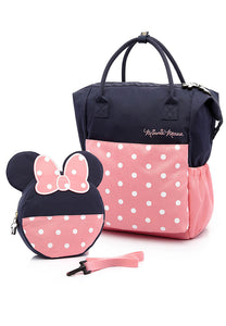 Disney Mother & Baby Backpack With Safety Harness - Mamaway Trading (M) Sdn. Bhd.