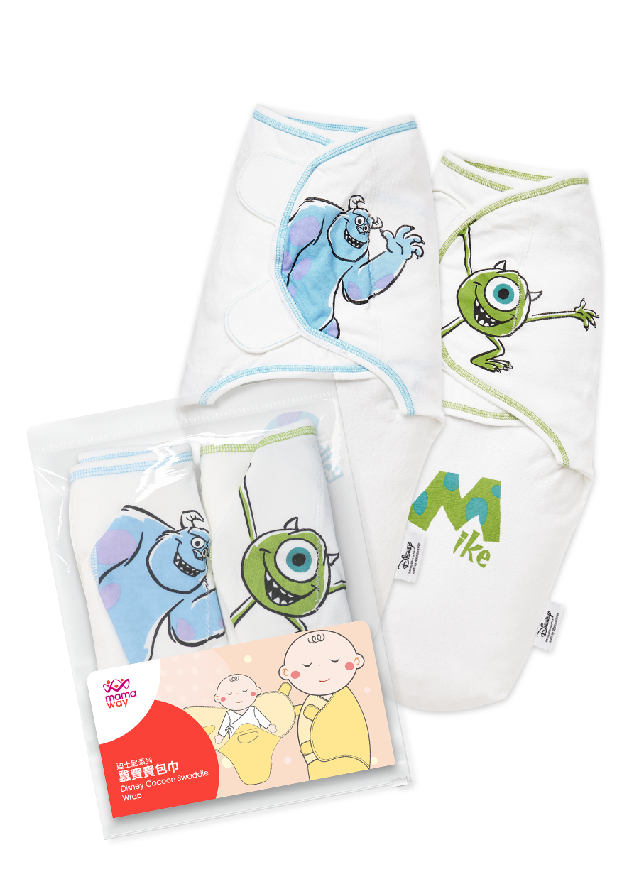 Disney Monsters Inc Cocoon Swaddle Wrap 2 Pack