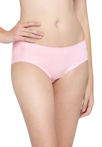 Antibacterial Medium-rise Briefs Panties (2 Pack)