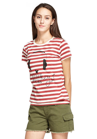 Disney Mickey Rock 2-Piece Nursing Tee